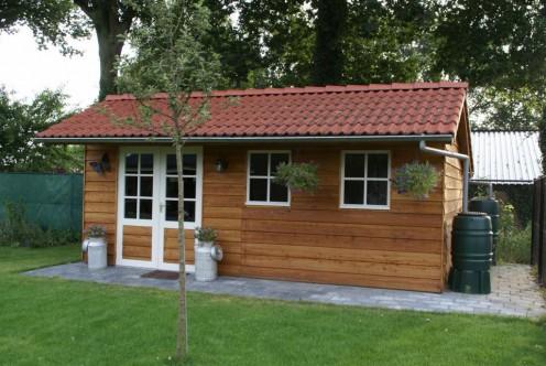 douglas tuinhuis met overkapping